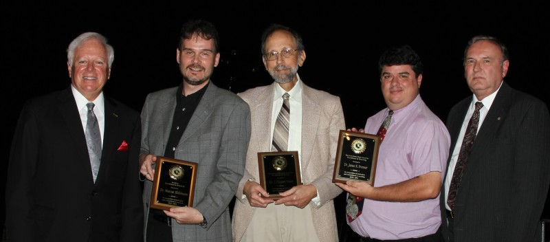 Photo of Three Florida Tech Faculty Members Honored for Excellence