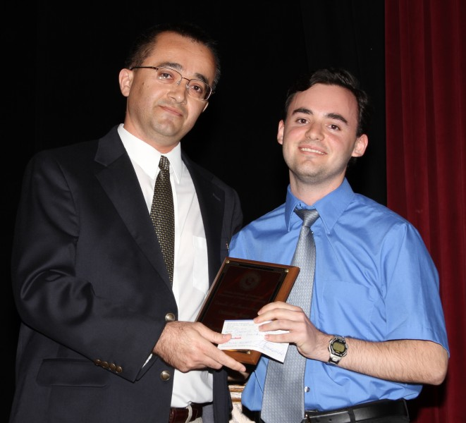 Photo of Florida Tech Student Earns Chemical Engineering Award