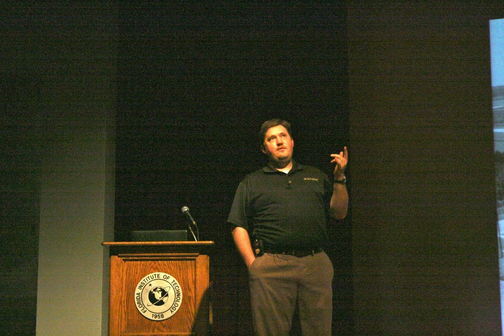 andy downs Florida Tech Aviation Lecture