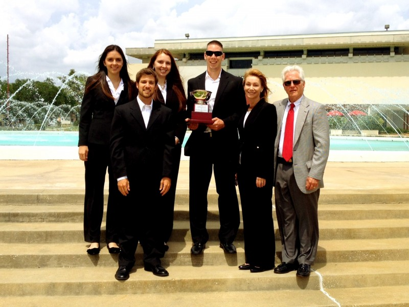 Photo of Florida Tech Business Student Team Wins Case Competition at Florida Southern College