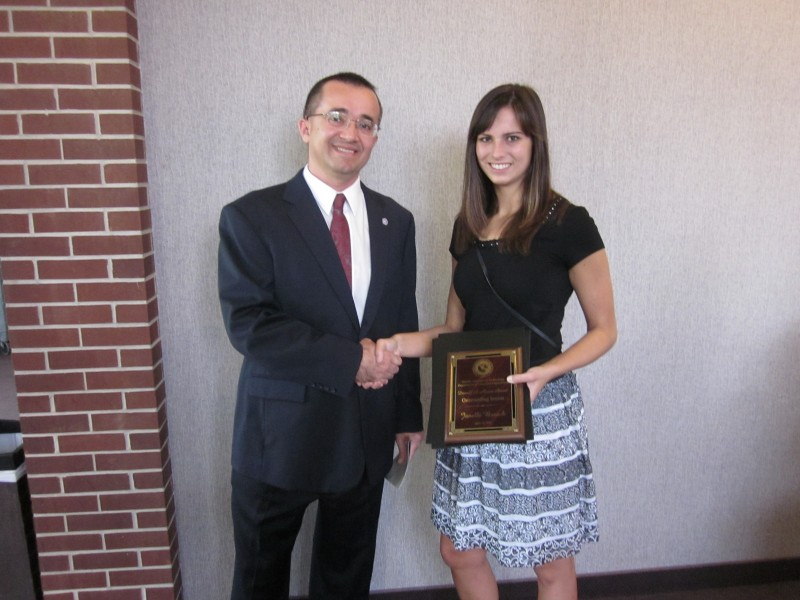 Photo of Florida Tech Student Janelle Branch Earns Chemical Engineering Award