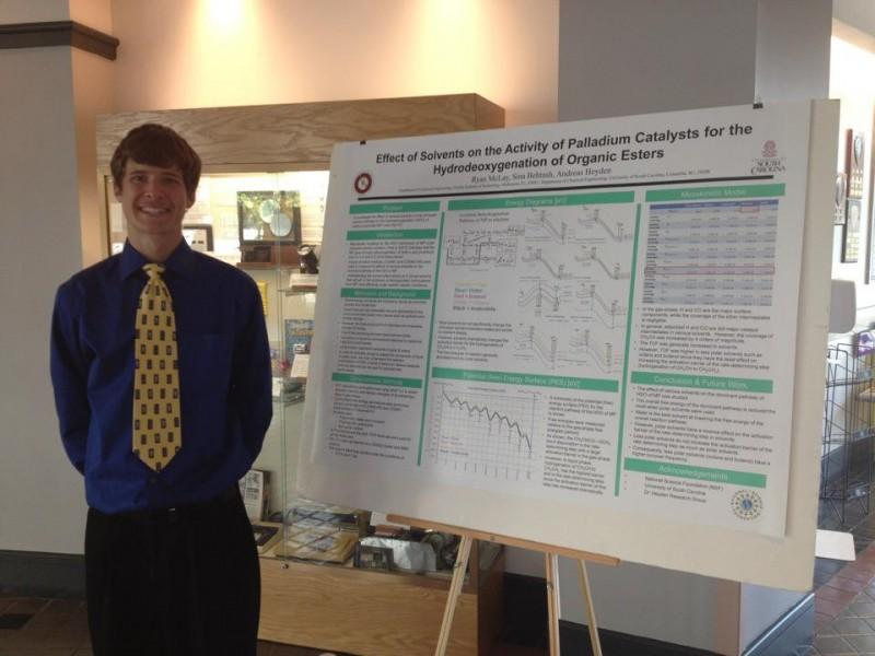 Photo of Florida Tech Junior Wins NSF-funded Program Poster Award