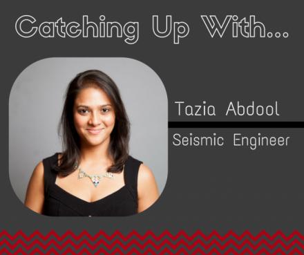 Tazia Abdool Oceanography degree