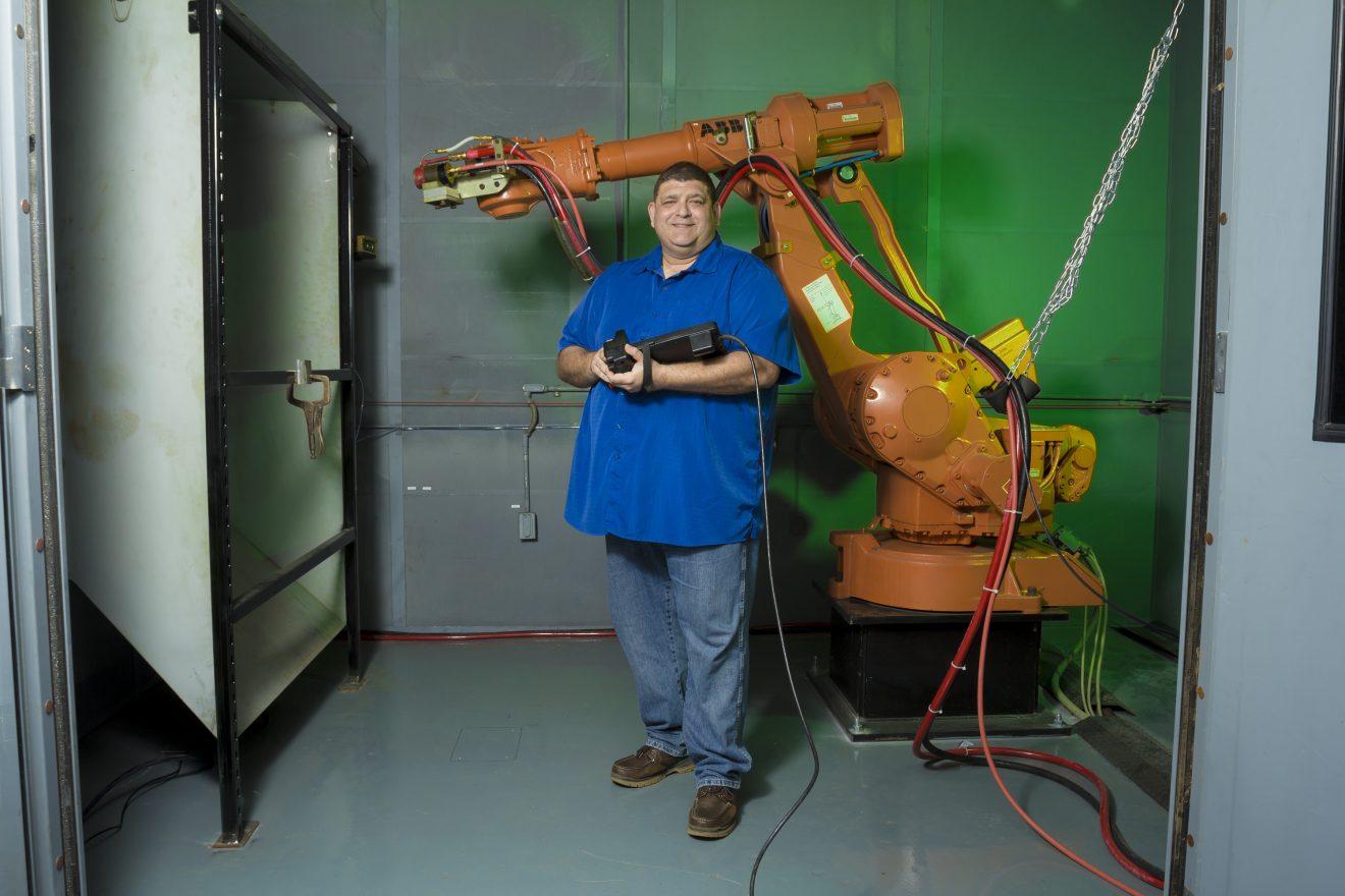 David Moreno, thermal spray engineer