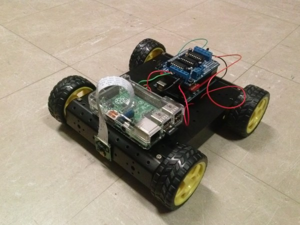 Photo of Students design and build remotely operated search bot