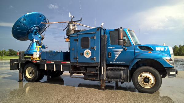 Photo of Doppler on Wheels Arrives on Florida Tech Campus