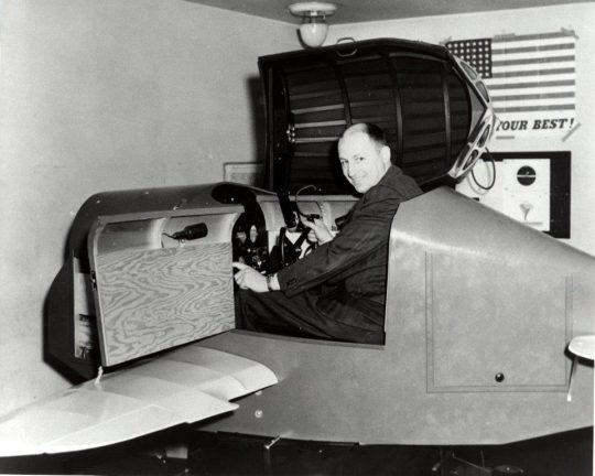 Photo of Simulation Pioneer Edwin Link Named to Florida Inventors Hall of Fame