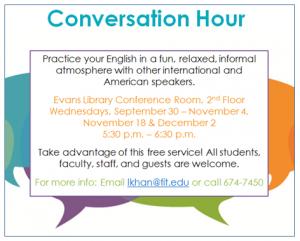 Conversation Hour