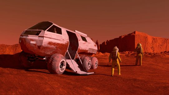 Photo of Human Side of Mars Missions Focus of Buzz Aldrin Space Institute Workshop May 30-31