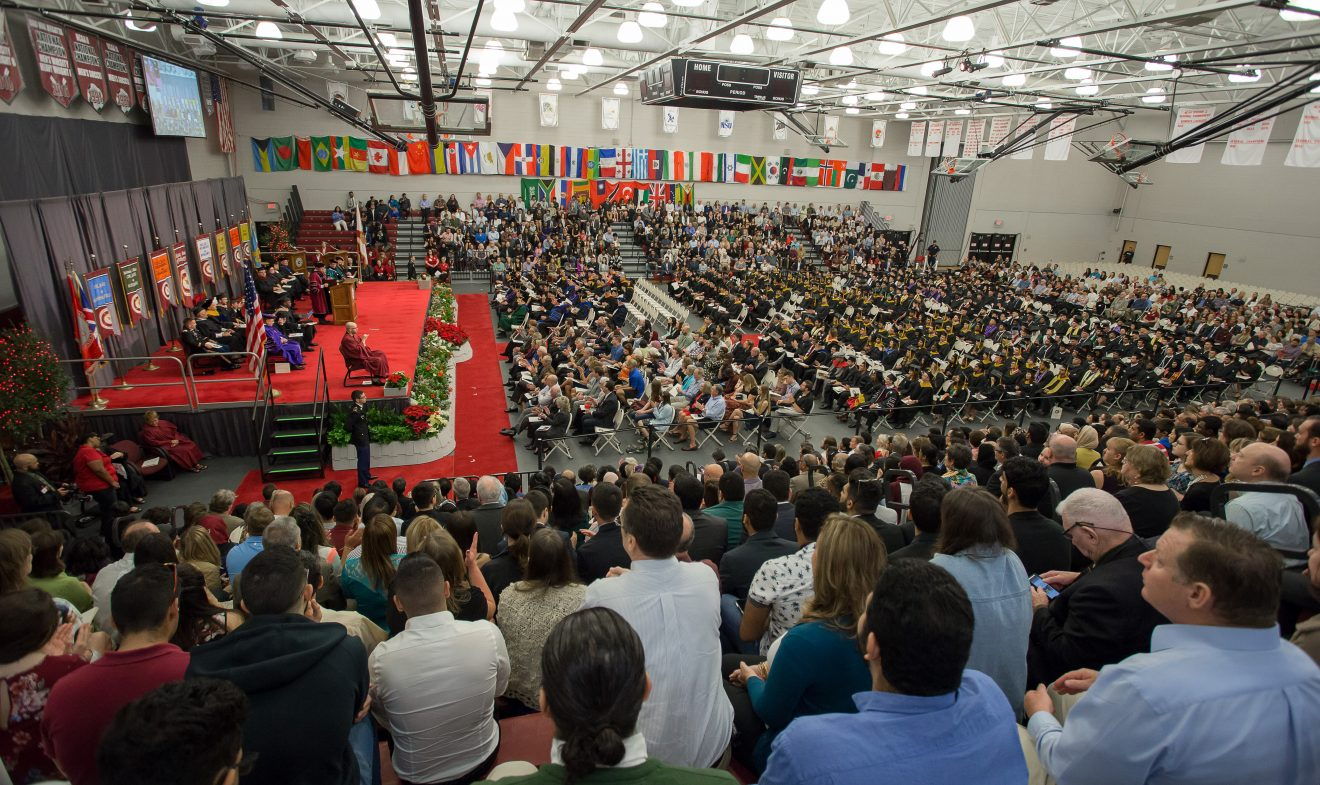 Photo of Florida Tech Confers 990 Degrees at 2017 Fall Commencement