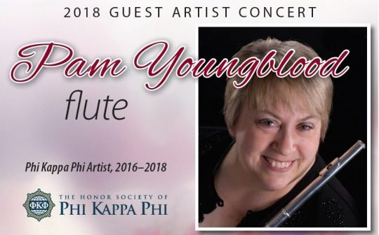 Photo of Flutist, Scholar Pam Youngblood to Hold Free Concert Jan. 30 at Gleason