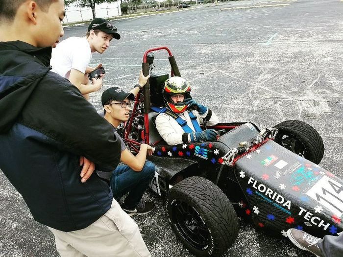 Photo of Florida Tech's Formula SAE Team Races Towards International Competition