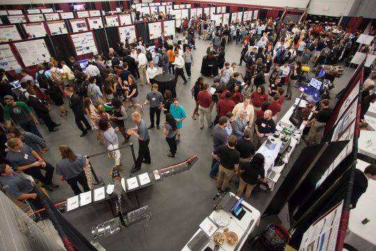 Photo of Florida Tech Student Design Showcase April 6 at Clemente Center