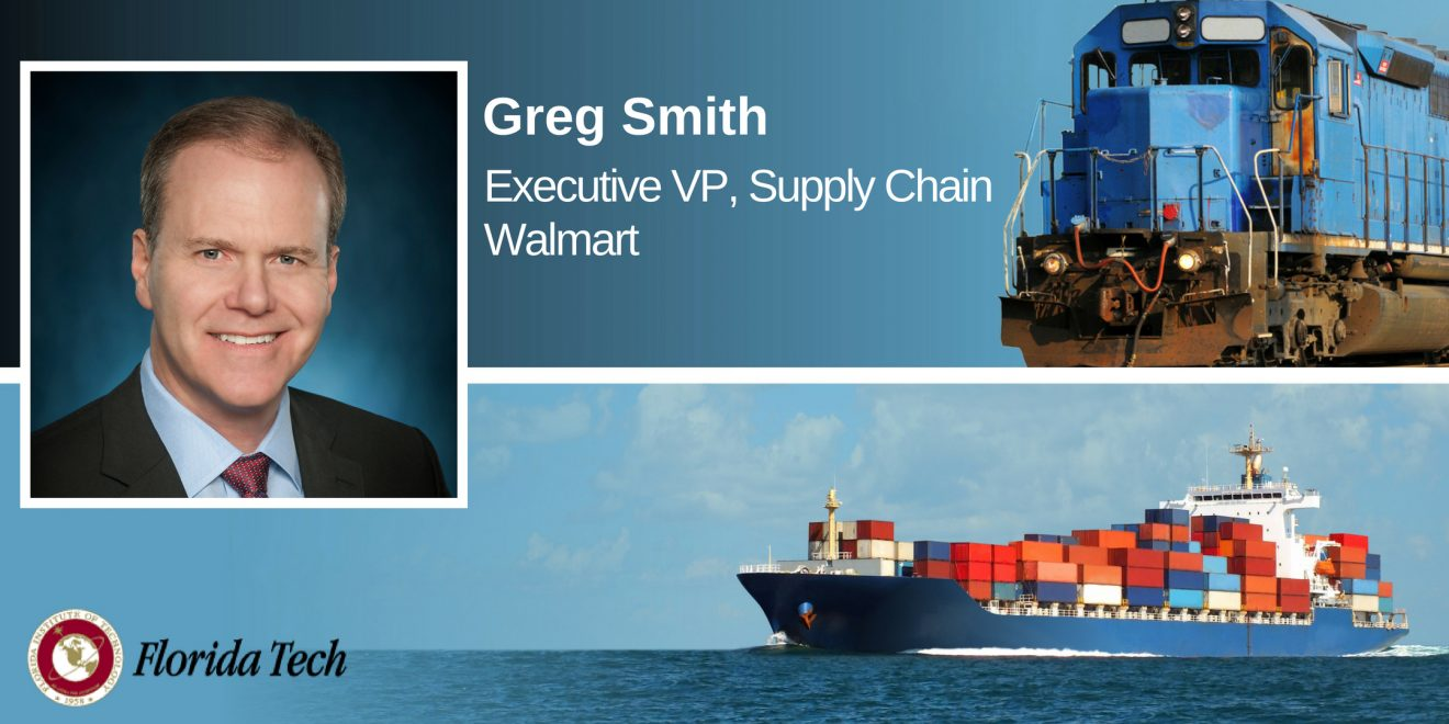 Photo of Walmart Supply Chain VP Headlines Smith Lecture at Florida Tech