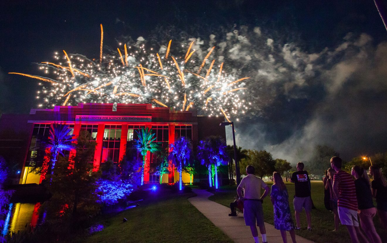 Photo of Florida Tech Marks 60th Anniversary with Fireworks, Festivities