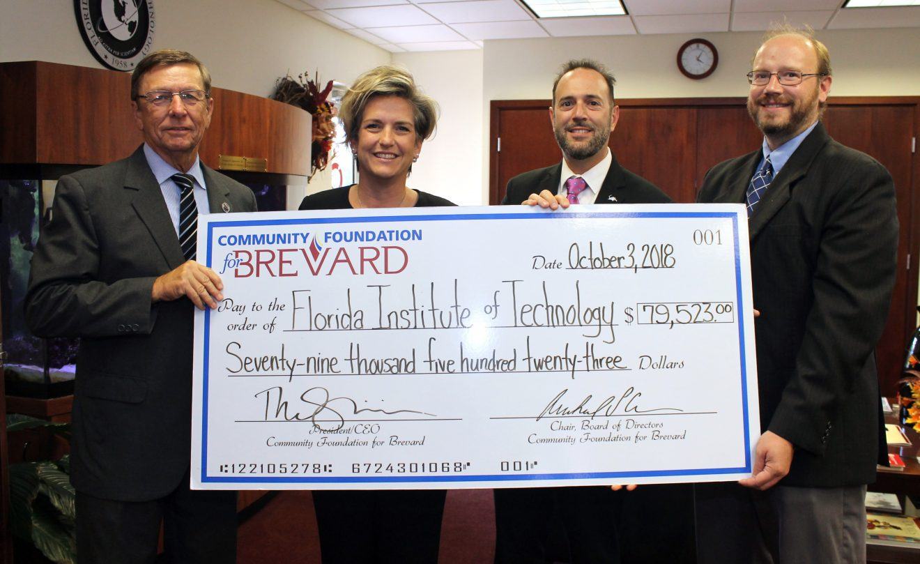 Photo of Community Foundation for Brevard Funds Florida Tech Medical Research