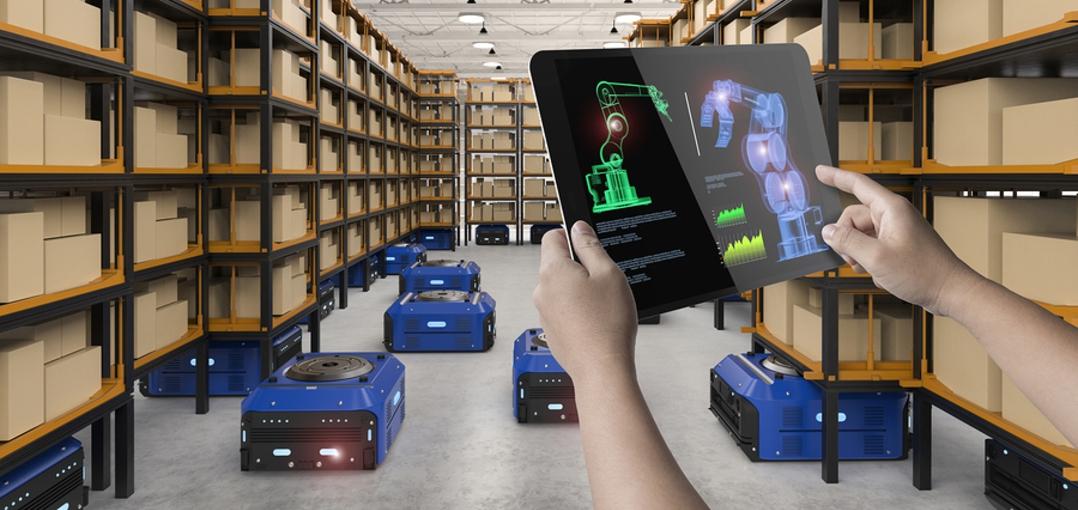 Logistics automation for warehousing