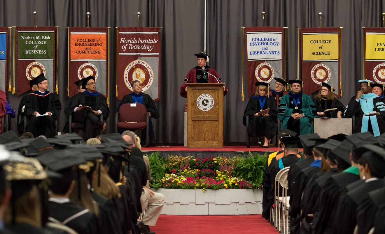 Photo of Florida Tech Fall Commencement Set for Dec. 15 at Clemente Center