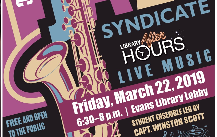 Photo of Jazz Syndicate – Library After Hours 3/22