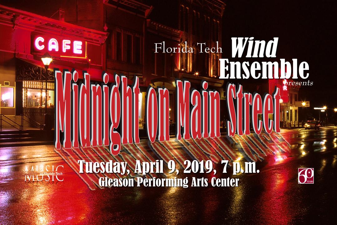 Photo of Florida Tech Wind Ensemble Concert (4/9/19)