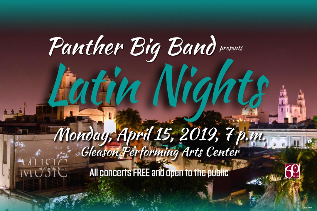 Photo of Florida Tech Panther Big Band (4/15/19)