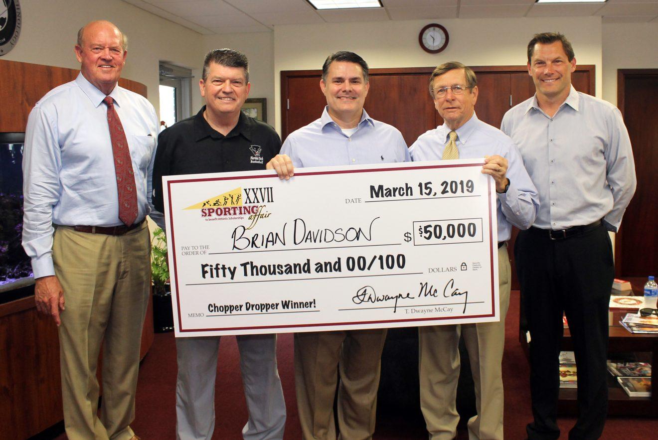 Photo of Florida Tech Chopper Dropper Winners Announced