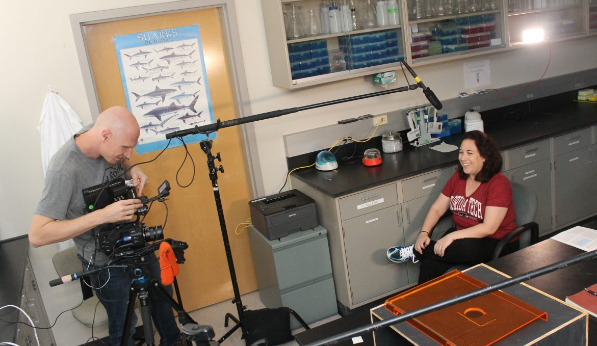 Photo of Florida Tech's Daly-Engel Stars in New Shark Documentary