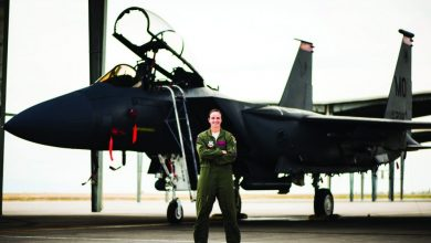 Photo of Jennifer Gillette '10, '12, From Athlete to Aviator