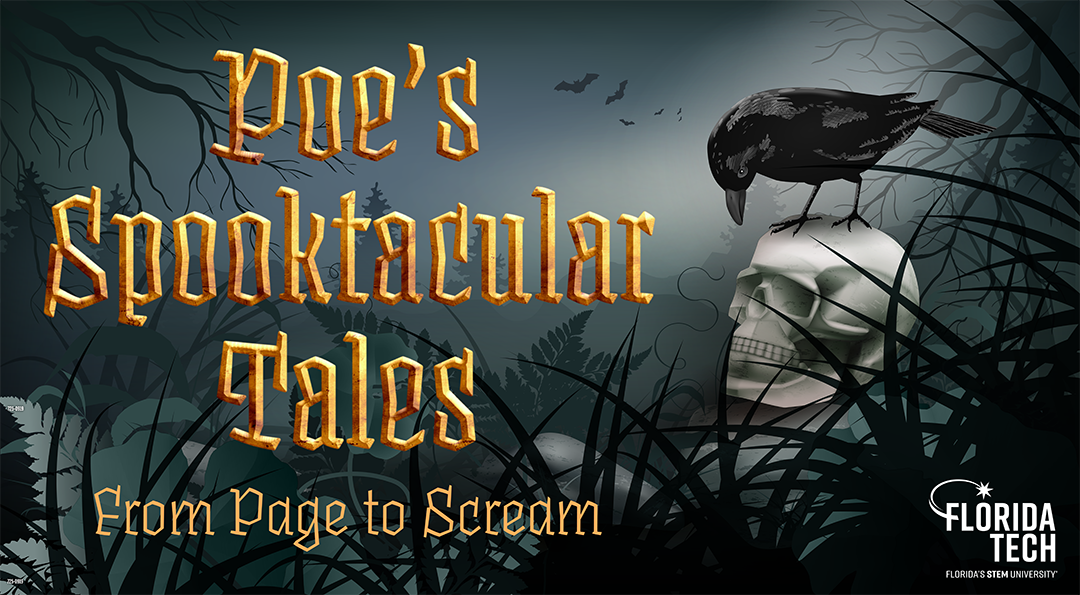 Photo of Experience 'Spooktacular Tales' as Florida Tech's Reel Reads Series Examines Poe