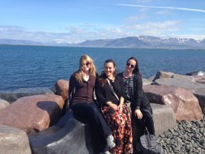 Study Abroad students in Iceland