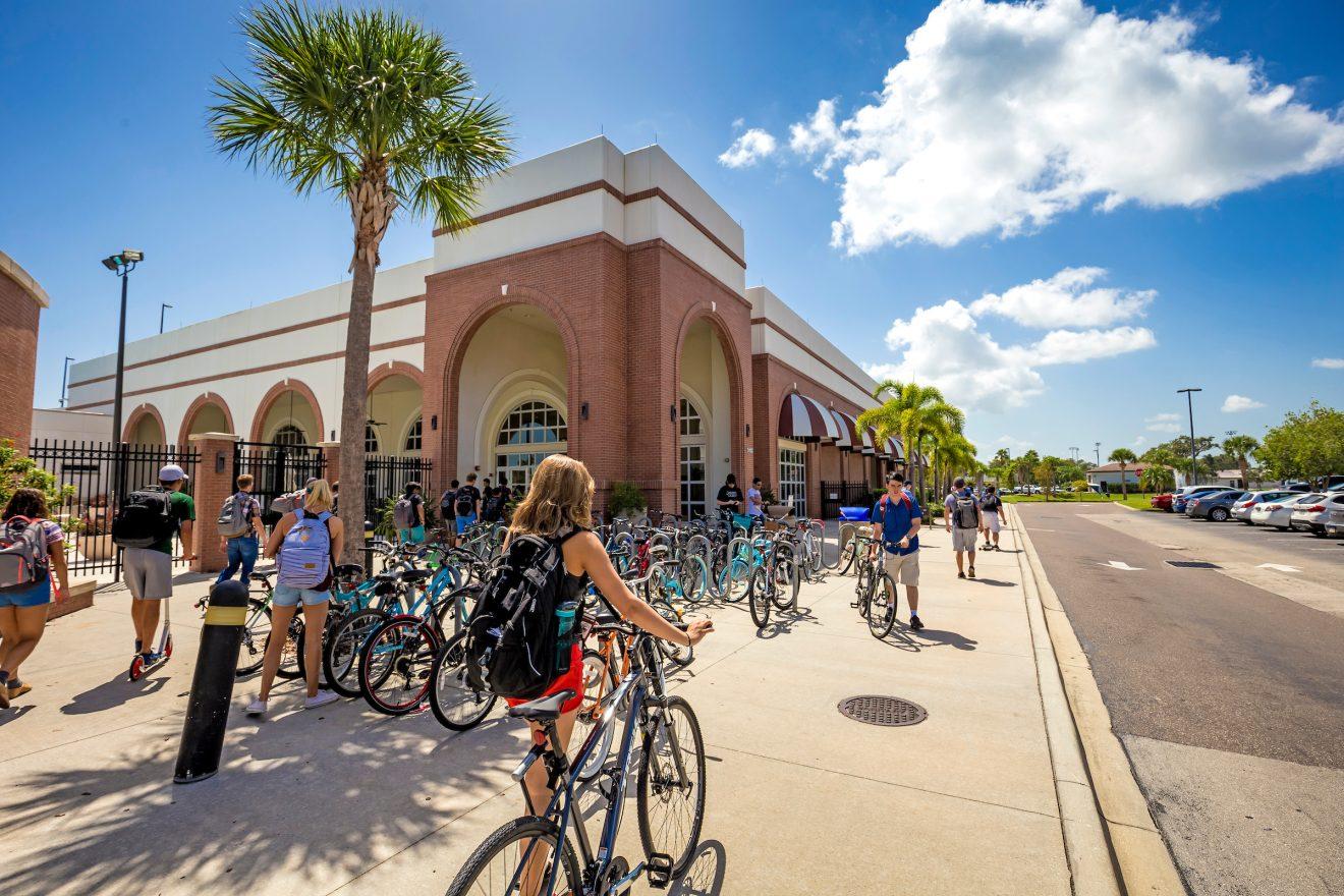 Photo of Florida Tech Earns 'Bicycle  Friendly University' Designation