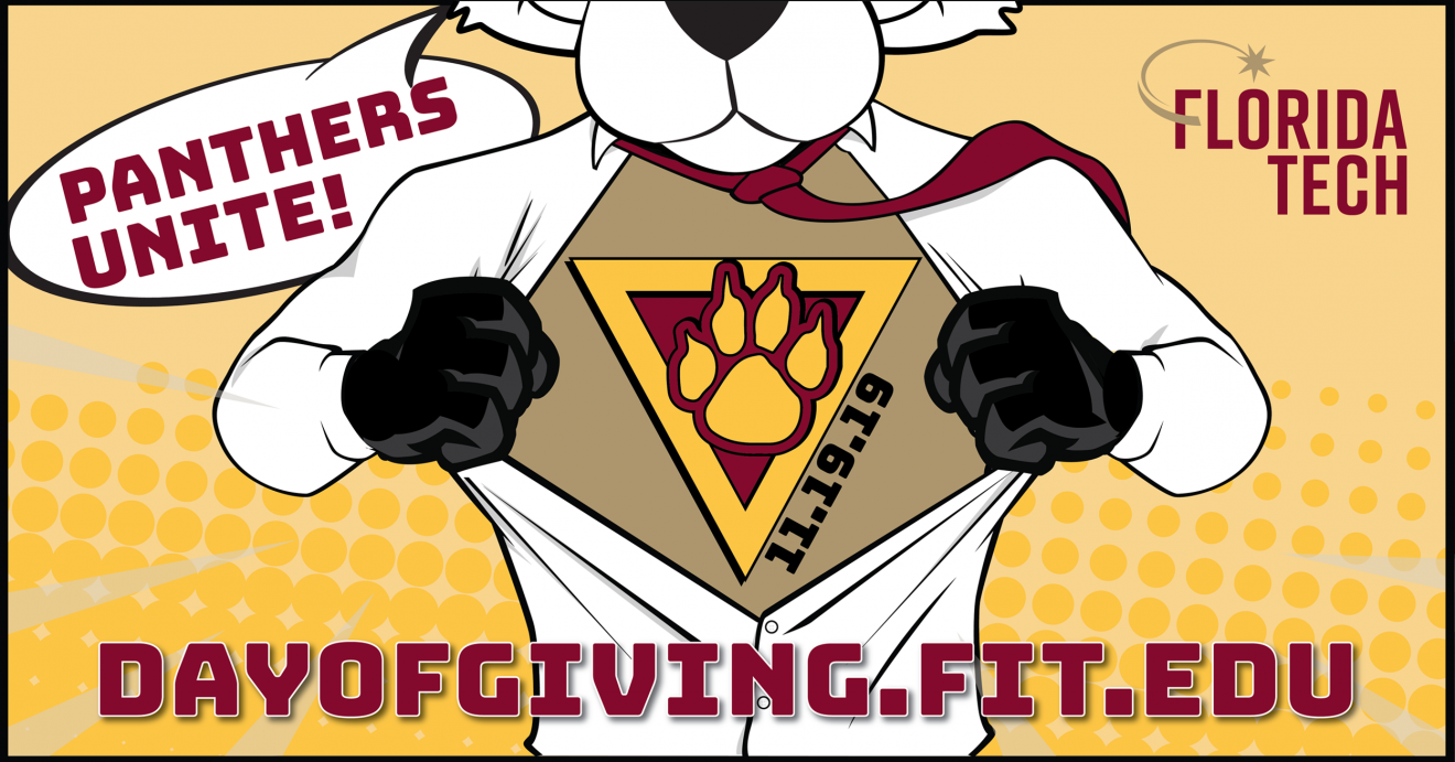 Photo of Florida Tech to Hold 5th Annual Day of Giving Tuesday, Nov. 19