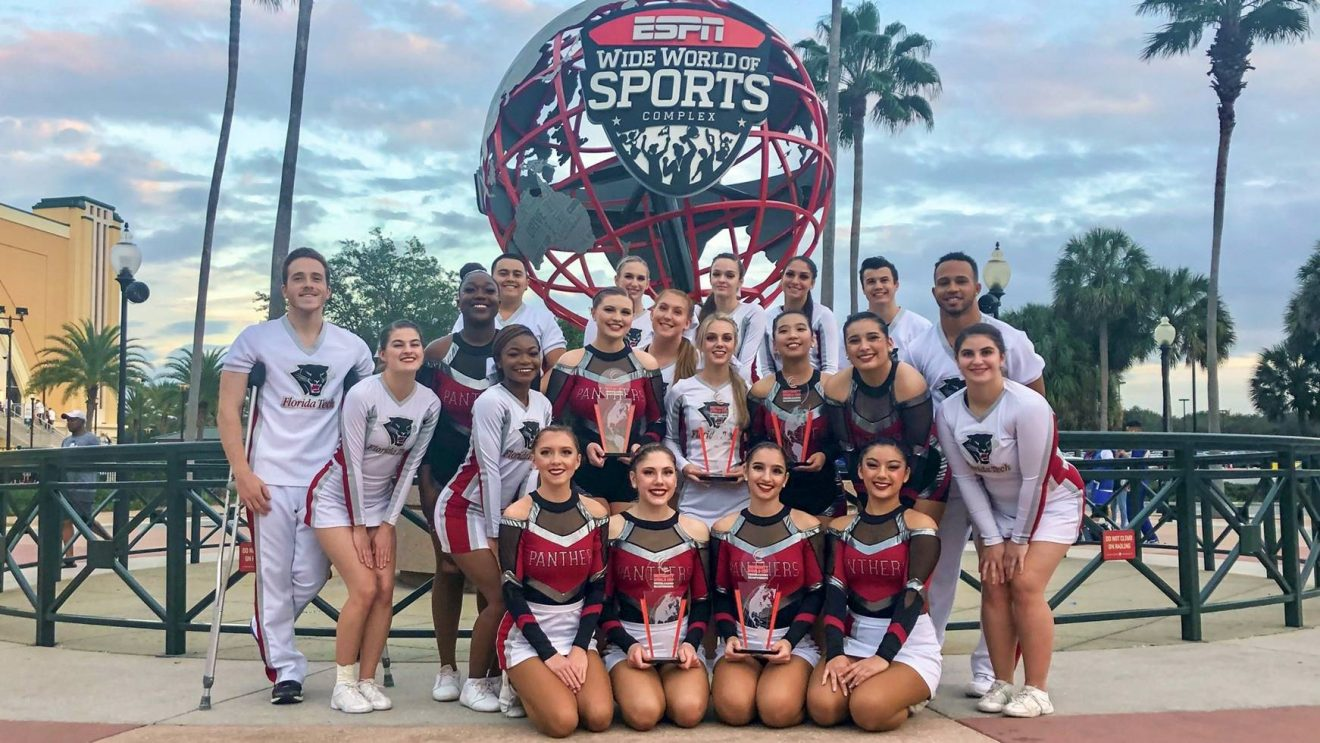 Photo of Florida Tech Cheerleading Crowned World Champs at ICU University World Cup