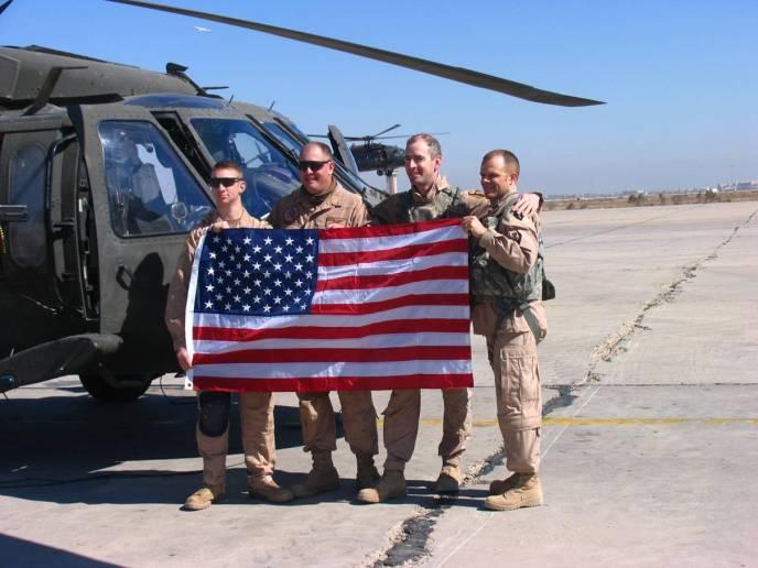 Coren Allen in Iraq