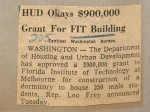 FIT receives HUD Grant