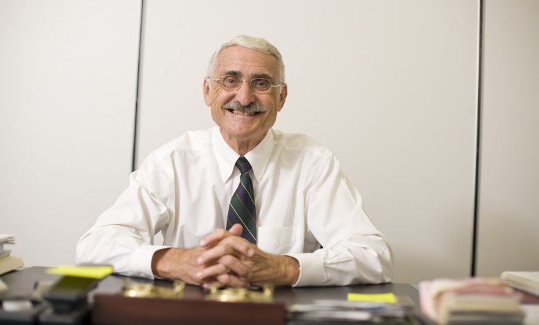 Photo of Panthers Mourn Beloved Professor George Maul