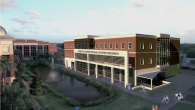 Photo of Groundbreaking for Health Sciences Building Oct. 16
