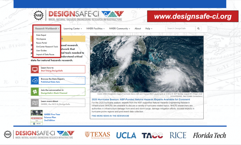 Photo of New Website Is Assisting Natural Hazard Researchers By Design