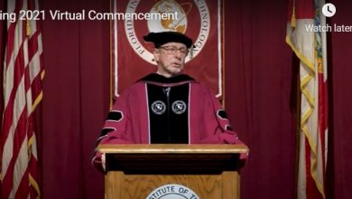 Photo of More Than 1,200 Graduate at Florida Tech Virtual Spring Commencement
