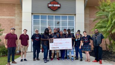 Photo of Unchained Kings Motorcycle Club Raises $12K for Florida Tech's Scott Center for Autism Treatment