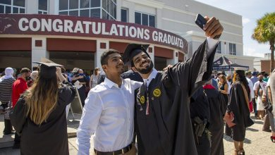 Photo of Hundreds Graduate Amid Cheers, Masks as Florida Tech Holds Summer Commencement
