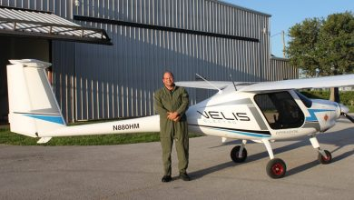 Photo of Buehler Grant Supports Historic First Electric Plane at Florida Tech