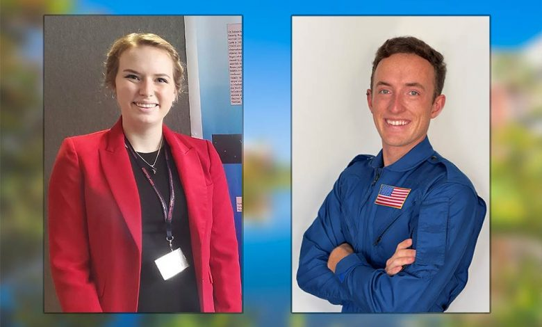 Photo of Two Florida Tech Students Named 2021 Astronaut Scholars